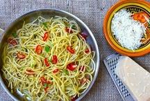 cooking & eating - pasta