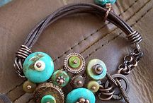 jewelry, leather