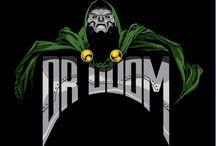 Comic art 41=Doctor Doom (Victor Von Doom)-Doctor Strange and Clea-Umar-Ancient One-Shuma gorath / Eternity-