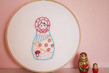 Handmade--Babushkas