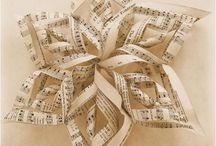Music Sheets Crafts