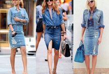 Tendência Jeans total.