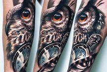 tattoo mochos / corujas