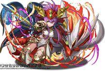 ドラゴン(ドラゴン+研究者×対抗勢力)