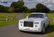 Rolls Royce Phantom for wedding hire / Book with Cabot Prestige, London's leading wedding car provider  07904528548