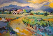 Landschappen / om te schilderen