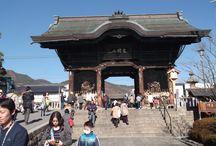 Nagano / Nagano se nachází na ostrově Honšú v Japonsku