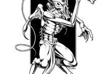 My Patreon Stock Art Creations / Showcasing the creature illustrations I create at my Patreon page, here- https://www.patreon.com/Eric_Lofgren?ty=h