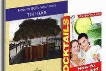 Tiki Hut, Tiki Bar, Tiki Bar Stools