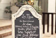 Dinner Menu Board Ideas