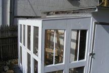 my yurt foyer- recycled window sunroom / the entrance! / by yolonda nicole