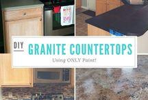 graniet counter DIY
