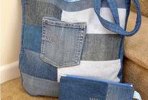 Tasker af denim