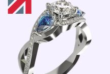 Unique Engagement Rings / Whatever sort of ring you decide is right for your engagement, I can create it for you. I can fashion the ring you have dreamed of and help you to celebrate your engagement in a way you will remember forever.  View more, click here http://www.davidlawjeweller.com/unique-engagement-rings
