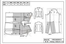 Estudos p modelagem / patternmaking / by Ricardo Albuquerque