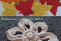 Irish crochet lace / ιρλανδικο  βελονακι