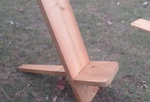 Gang Planks! / Plank Chairs and related furniture items that I make in Austin, Texas