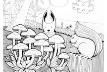colouring pages for kids / Printable colouring pages for kids