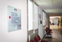 Centre Administratif Départemental des Alpes-Maritimes-Signalétique intérieure & extérieure / http://exhiblog.exhibitgroup.fr/signaletique-cadam-remise-neuf