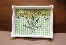 Meus mosaicos / Trabalhos manuais