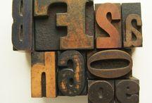 typography / by Faith Thomas