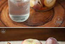 Water recipes