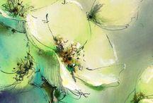 Pavel Guzenko (Ucraina) / Pictura abstracta contemporana. Ulei pe panza.                                            Picturi foarte colorate, par ciudate , ele nu transmit forma precisa si culoarea. Este un maestru al abstractului, saturatiei si transferului culorilor, creând astfel o impresie vizuala, viziunea sa a picturii ca intreg.