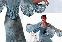 Heklet kjole og tunika