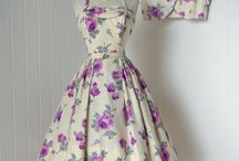 vintage sundress with matching