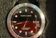 Montre filippo loreti como black silver / Montre