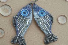 gyöngyhímzés - bead embroidery