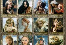 mythology and alike