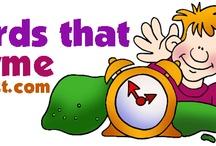 Rijmpjes voor kleuters / Preschool rhymes / Gedichtjes voor kleuters / Preschool rhymes