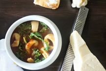 Recipes: Soups and Salads / Lots of recipes inspiration for hearty soups and fresh salads!