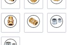 Brass Cable Glands / Brass Cable Glands is a device or instrument used to attach or connect the end of a cable with an equipment. Cable glands may be used on all types of electrical power, control, instrumentation, data and telecommunications cables. They are used as a sealing and termination device to ensure that the characteristics of the enclosure which the cable enters can be maintained adequately. Cable glands can also be used to connect cables through bulk heads and gland plates.