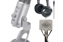 Podcasting Equipment / by Donna Gilliland
