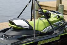 Marine Accessories / PWC lifts, jet ski dock cranes, boat ladders, kayak lifts, venting tools, and more!