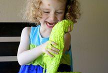 Zabawy i przepisy sensoryczne