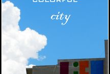 My colorful city