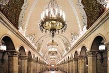 Russian underground ( metro) / It's simply opulent