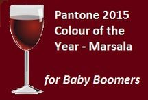 Pantone 2015 Color of the Year: Marsala / How Baby Boomer Women can wear the 2015 Colour of the Year - Marsala AND have a little bit of fun with it