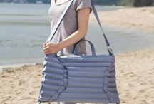 CITY-SEA-FOREST BAG / Multi-functional modern bag made for Gdynia Design Days Festival 2014.