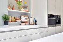 Keukens / Keukens ontworpen door BNLA architecten in verschillende woningen.