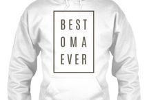 OMA HOODIES / Oma hoodies. Gift for her!