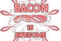 bacon, chops, ham, etc.
