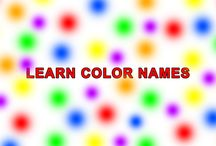 Learn color names