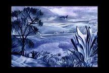 enkaustika -kresby-malování