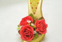 návod kvety.topánka