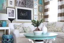 Dining/Living Room / Decorating for a living room and dining room