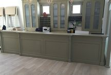 Saint Andreas Resort  Naousa Paros / Reception Desk And tradition furniture